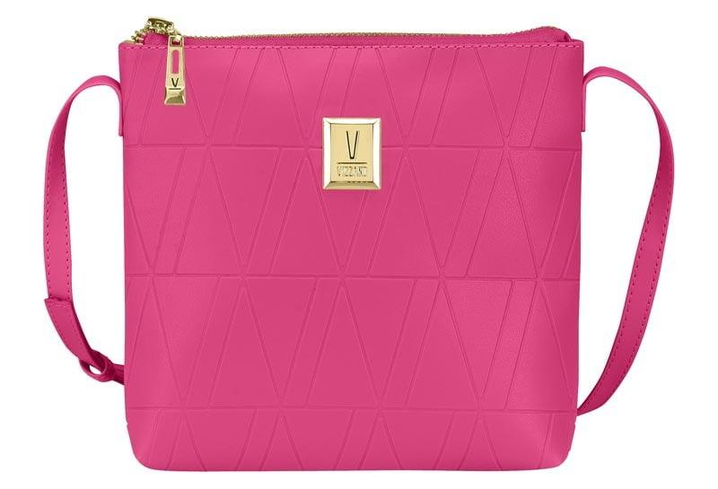Bolsa Feminina Transversal Tiracolo Quadrada Vizzano Pink - 10000.2