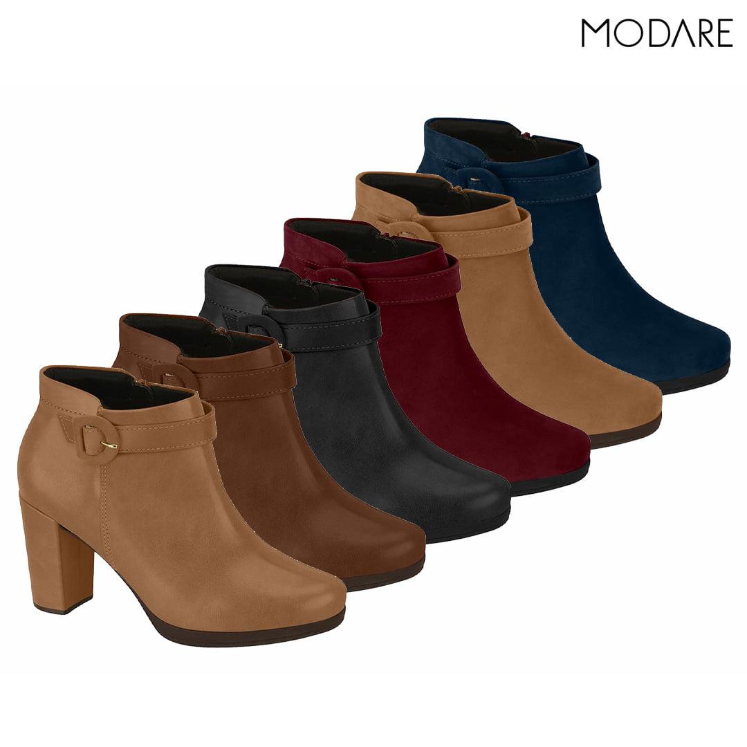 Bota Modare Ankle Boot Feminina - 7067.103