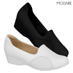 Sapato Anabela Modare Ultra Conforto Ortopédico Joanete - 7014.229