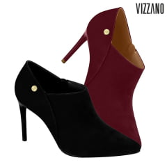 Scarpin Vizzano Ankle Boot Nobuck - 1344.101
