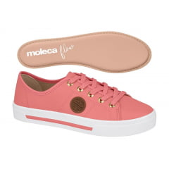 TENIS FEMININO CASUAL BOTTON MOLECA - 5667.302