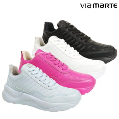 TENIS FEMININO VIA MARTE CHUNKY SWEET COLORS - 20-14994